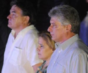 Asiste primer vicepresidente cubano a velada de salidaridad con Los Cinco
