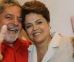 Lula y Dilma.