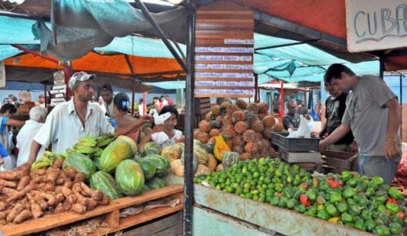 Medir, pesar...(mercados agropecuarios)