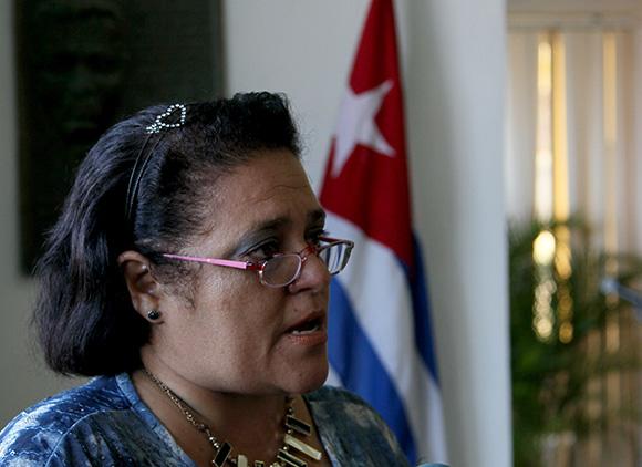 Haymel Espinosa, familiar de una de las víctimas del crimen de Barbados. Foto: Ladyrene Pérez/ Cubadebate.