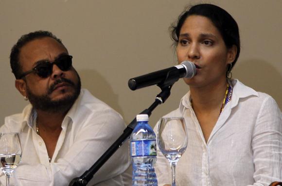 Pancho Céspedes y Haydée Milanés. Foto: Ladyrene Pérez/ Cubadebate.