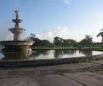 """La Fuente Lumionosa, de Vía Blanca, conocida como el """"Bidet de Paulina"""". Paulina era la hermana del Presidente Ramón Grau."""