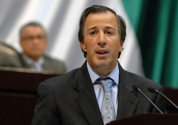 José Antonio Meade, canciller de México.