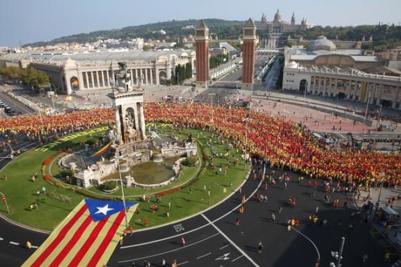 manifestaciones en cataluña 1