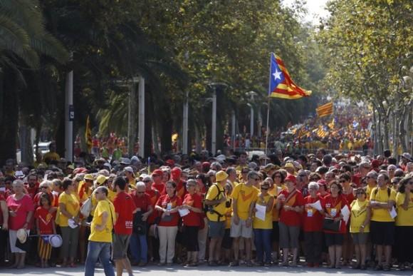 manifestaciones en cataluña 3