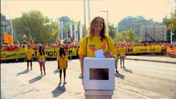 manifestaciones en Cataluña 4