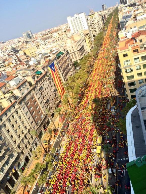 manifestaciones en Cataluña 5