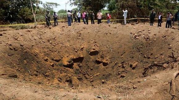 meteorito managua