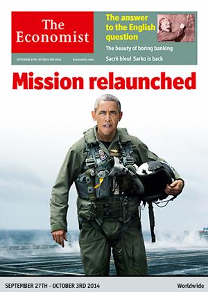 Portada de The Economist.