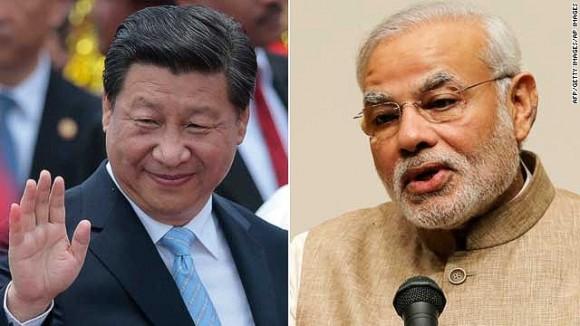 presidentes de china e india