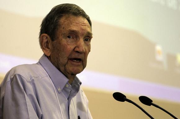 Ramsey Clark, ex fiscal de los Estados Unidos. Foto: Ladyrene Pérez/ Cubadebate.