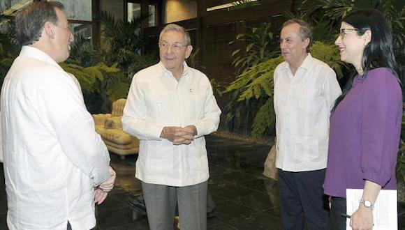 Raúl a reçu le ministre des Affaires étrangères du Mexique