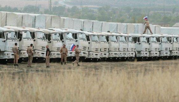 segundo convoy humanitario rusa a ucrania