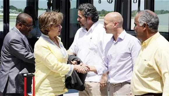 segundo grupo de victimas del conflicto colombiano llegan a La Habana