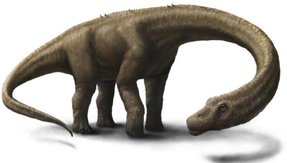 Reconstrucción artística del aspecto de 'Dreadnoughtus schrani'.