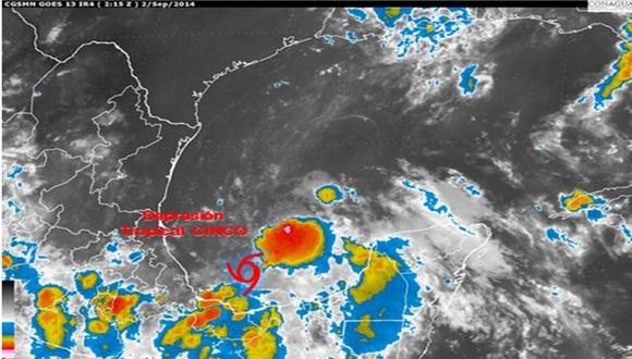 El próximo aviso de ciclón tropical se emitirá a las seis de la tarde de hoy martes.