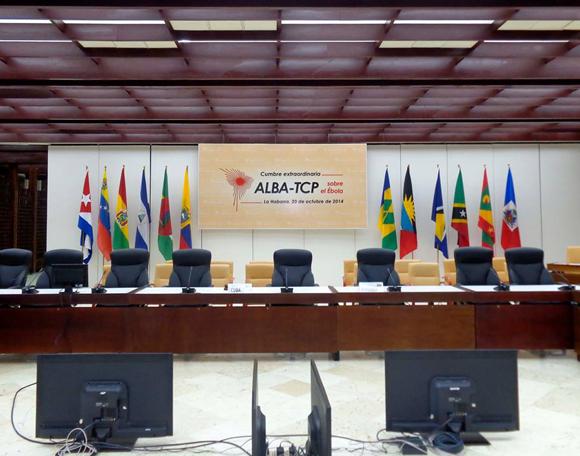 Listas las locaciones de la Cumbre del ALBA-TCP, La Habana 2014. Foto: Yenny Muñoa / Cubaminrex