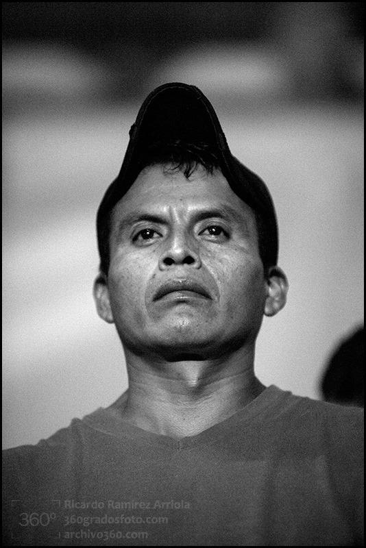 Padre de normalista desaparecido. Foto: Ricardo Ramírez Arriola.