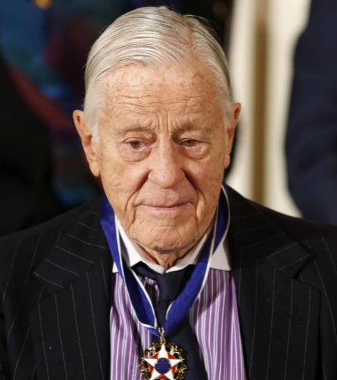 Ben Bradlee, en una imagen de 2013. Foto: Reuters.