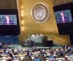 Bruno en la ONU contra el Bloqueo 2014