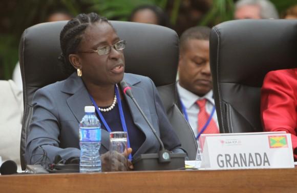 Clarice Modeste, ministra de Salud de Granada. Foto: Ismael Francisco / Cubadebate.