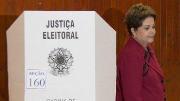 Dilma vota