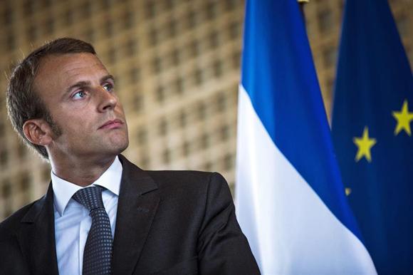 Emmanuel Macron, ministro de economía de Francia. Foto: EFE.