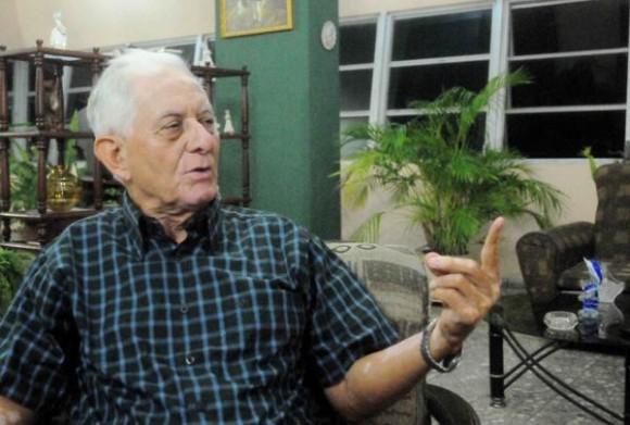 Entrevista al Teniente Coronel (R),  Elgin Fontaine Ortíz, en La Habana, Cuba, el 27 de octubre de 2014  AIN FOTO/Oriol de la Cruz ATENCIO/