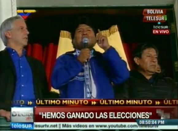 Evo Morales vuelve a ganar