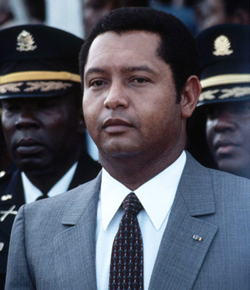 Jean-Claude Duvalier 1971 1986