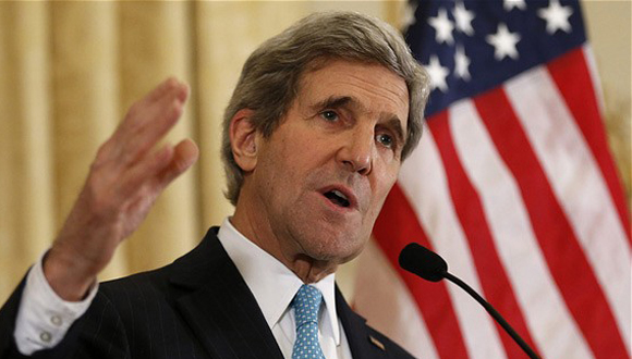 El secretario de Estado norteamericano, John Kerry. Foto tomada de The Telegraph