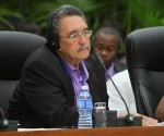 Kenny Anthony, Primer Ministro de Santa Lucía. Foto: Ismael Francisco / Cubadebate.