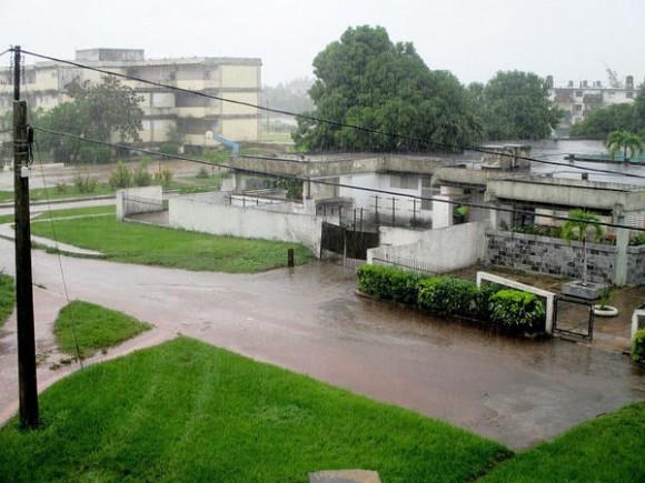 Las lluvias reportadas este mes benefician los acumulados de agua embalsada, hoy al 57,7 por ciento en 12 de los 14 embalses de la Isla de la Juventud, Cuba, 22 de octubre de 2014.   AIN  FOTO/ Roberto DÍAZ MARTORELL / Cubadebate