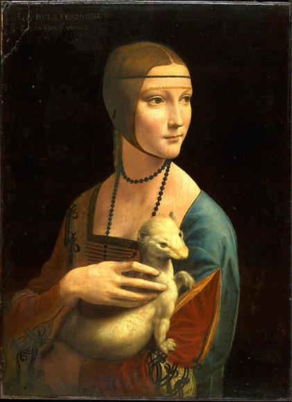 La dama del armiño.