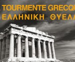 Cartel de 'La tormenta griega', la película de Philippe Menut.