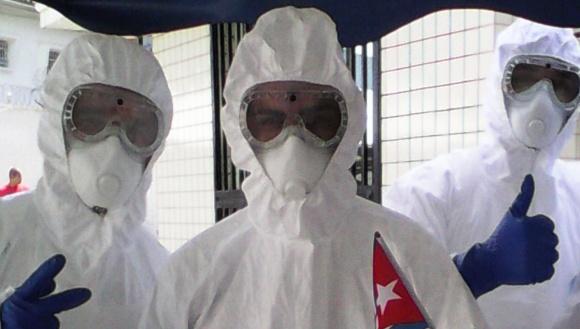 Agradecen gobiernos de Liberia y Guinea Conakry ayuda cubana para combatir ébola