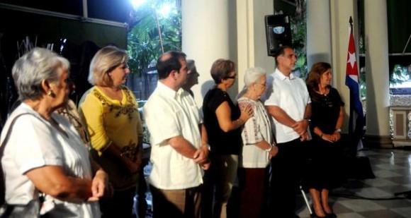 Acto de entrega de la Medalla de la Amistad a Alicia Jrapko y William (Bill) Hackwell,  del Comité de Solidaridad con Los Cinco, realizado en la sede del Instituto Cubano de Amistad con los Pueblos (ICAP), en La Habana, Cuba,  el 2 de octubre de 2014 .   AIN FOTO/Oriol de la Cruz ATENCIO / Cubadebate