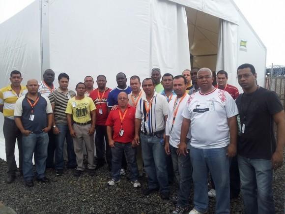 La brigada médica cubana en Liberia. Foto: Dr. Ronald Hernández Torres