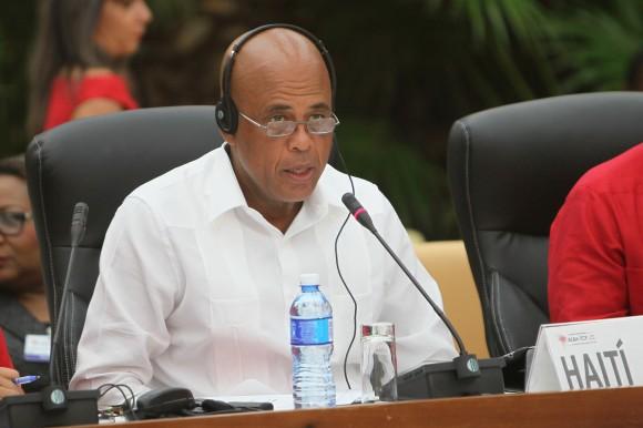 Michel Martelly, presidente de Haití. Foto: Ismael Francisco / Cubadebate.
