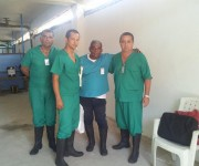 Otro día de intensa preparación en Liberia, recordando a Camilo. Foto: Ronald Hernández Torres/ Facebook