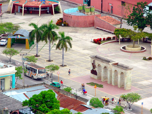Plaza Pedro Agustín Pérez,  Guantánamo. Foto: Liany / Cubadebate