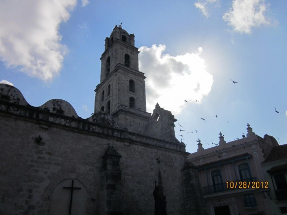 Plaza de San Franciso de Asís, La Habana Vieja. Foto: Ileana Cortina Rios/Cubadebate.
