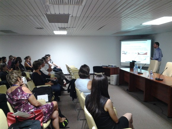 Taller Binacional Cuba-Brasil Generalización del uso de la Eritropoyetina en el Sistema Nacional de Salud. Foto: Yosbel Bullaín y Nayara Tardo / Cubadebate