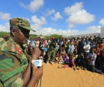 Un militar informó sobre la captura de un militante del grupo islamista Al Shabaab, el pasado 6 de octubre. Foto: Reuters