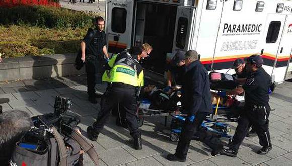 Un soldado que estaba de guardia fue herido en el ataque. Foto: EFE.
