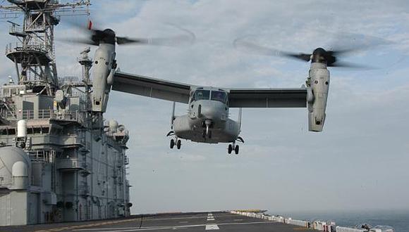 V-22 Osprey.