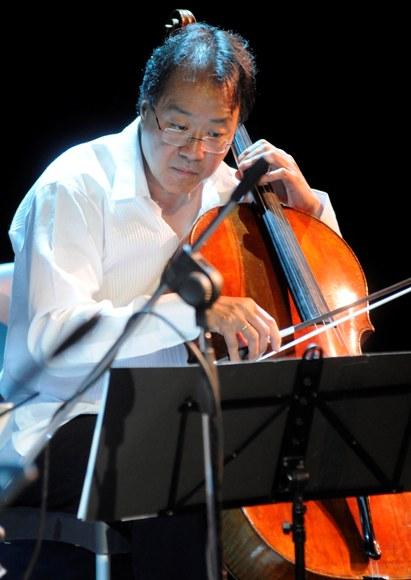 Cuba rinde homenaje al violonchelista estadounidense Yo-Yo Ma