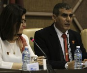 Nasser Lahham, director de Al Mayadeen en Palestina. Foto: Ladyrene Pérez/ Cubadebate.
