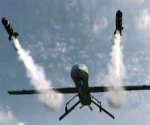 ataques de drones en Ambar
