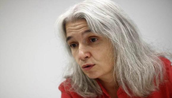La escritora madrileña Belén Gopegui. Foto: Jairo Vargas/ Público.